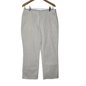 Tommy Hilfiger Golf White Polka Dot Chino Pant 10